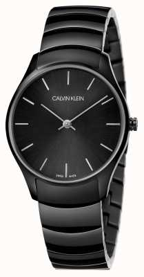 Calvin Klein | Classic Too Watch | Black Stainless Steel Bracelet | K4D22441