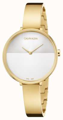 Calvin Klein | Womens Rise Extension | Gold Stainless Steel Bracelet | K7A23546