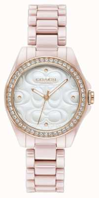 Coach | Womens Modern Sport Watch | Pink With White Face | 14503256