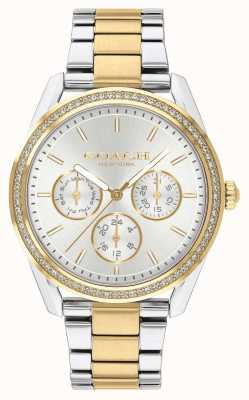 Coach | Preston Watch | Chronograph Two Tone Silver And Gold | 14503268
