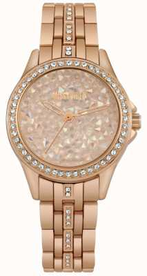 Missguided | Ladies Watch | Rose Gold | Rose Gold Stone Dial | MG013RGM