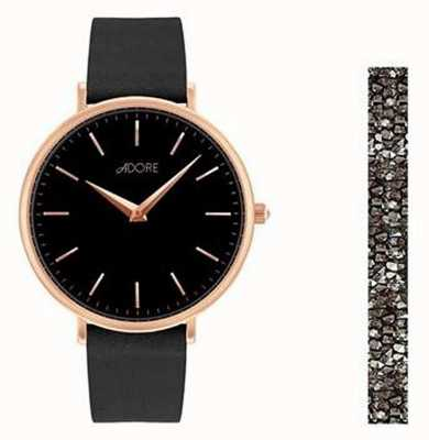 Adore Adore Holiday Signature Black Watch Gift Set 5459990