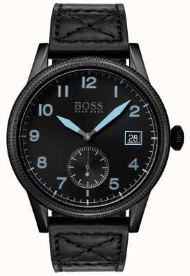 BOSS | Mens Black Legacy| Black Stainless Steel | 1513672