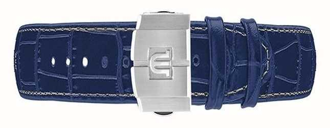 Maurice Lacroix Aikon 44mm Automatic Chronograph Blue Leather Strap Only ML740-005057-ML508-005008