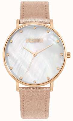 Missguided | Ladies Pink Leather Strap | MG014RG