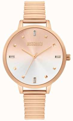 Missguided | Ladies Rose Gold Watch | MG012RGM