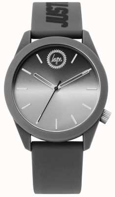 Hype | Mens Grey Silicone Watch | HYU020EE