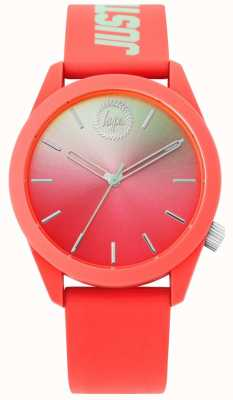 Hype | Ladies Coral Silicone Strap | HYL020ON