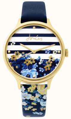Joules | Ladies Watch | Navy Floral Print Strap | JSL015UG