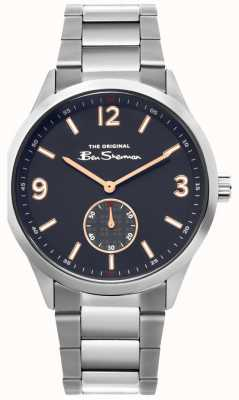 Ben Sherman | Mens Stainless Steel Watch | Blue Dial | BS020SM