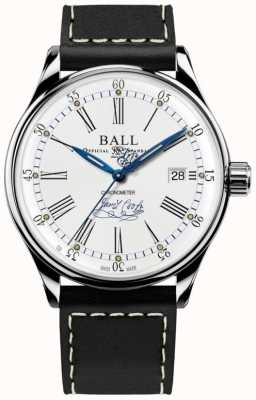 Ball Watch Company Trainmaster Endeavour Chronometer Limited Edition Leather NM3288D-L2CJ-WH