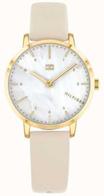 Tommy Hilfiger | Womens Lily Watch | Cream Strap | 1782038