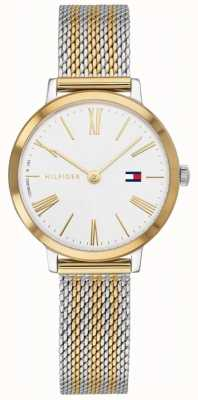 Tommy Hilfiger Project Z | Two Tone Stainless steel Mesh | White Dial 1782055