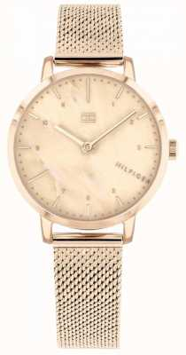 Tommy Hilfiger | Womens Rose Gold Lily Watch | 1782042