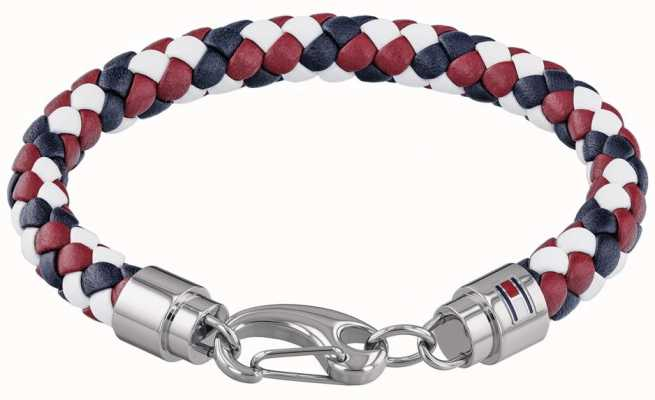 Tommy Hilfiger | Woven Leather Bracelet | 2790046