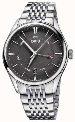 Oris Artelier Pointer Day Date Mens Watch 01 755 7742 4053-07 8 21 79