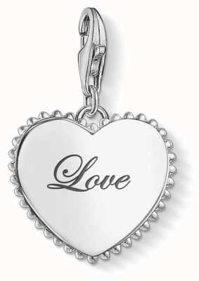 Thomas Sabo | Token Of Love Charm | 925 Sterling Silver | 1503-001-21