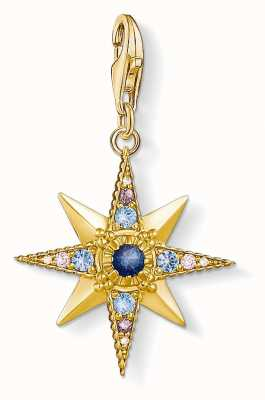 Thomas Sabo | Royalty Star | Gold Plated 925 Sterling Silver | 1714-959-7
