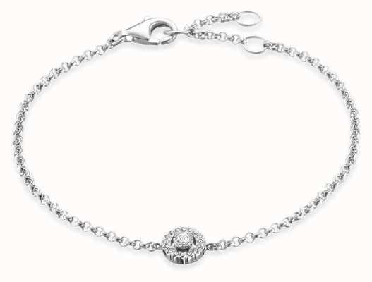 Thomas Sabo | Light Of Luna | Sterling Silver Bracelet | Zirconia | A1549-051-14-L19