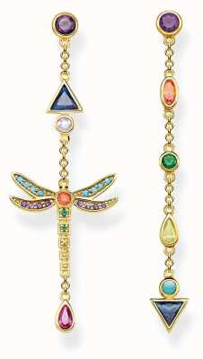 Thomas Sabo | Dragonfly Earrings | Gold Plated Sterling Silver | H2033-317-7