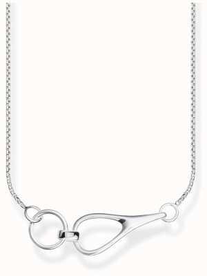 Thomas Sabo | Sterling Silver Open Linked Necklace | KE1855-001-21-L45V