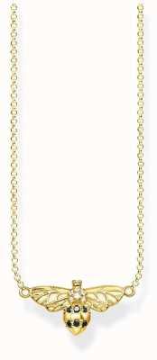 Thomas Sabo | Sterling Silver Gold Plated 'Bee' Necklace | KE1866-414-7-L45V