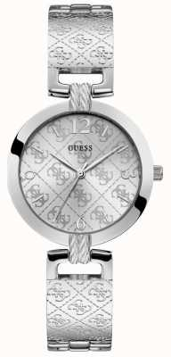 Guess | Womens G-Luxe | Stainless Steel Bracelet | Silver Dial | W1228L1