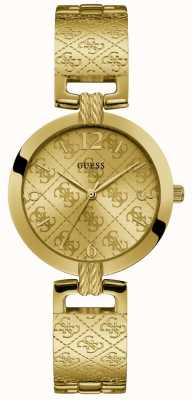 Guess | Womens G-Luxe | Gold Stainless Steel Bracelet | Gold Dial W1228L2