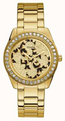 Guess | Womens G-Twist | Gold Stainless Steel | Two Tone Dial | W1201L2