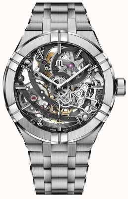 Maurice Lacroix Aikon Manufacture Skeleton Stainless Steel Bracelet AI6028-SS002-030-1