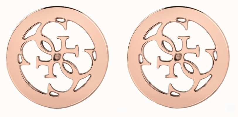 Guess | Tropical Sun | Plain Rose Gold Earrings | UBE78009