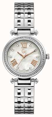 Gc | Womens PrimeChic | Stainless Steel Bracelet | White Dial | Y47002L1MF