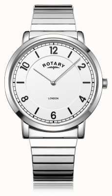 Rotary | Gents Stainless Steel Bracelet | GB02765/18