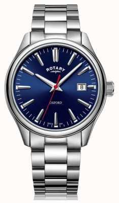 Rotary | Men's Stainless Steel Bracelet | Blue Dial | GB05092/53