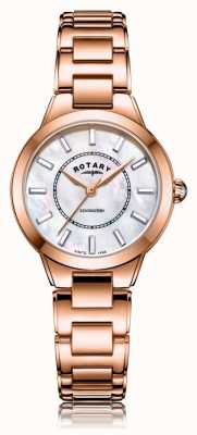 Rotary | Ladies Rose Gold Bracelet | LB05379/41