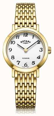 Rotary | Women's Gold Plated Bracelet | LB05303/18