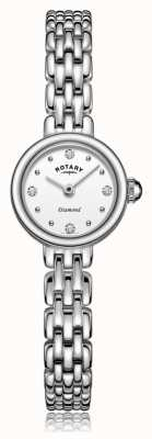 Rotary | Ladies Stainless Steel Bracelet | LB05152/70/D