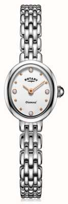 Rotary | Ladies Stainless Steel Bracelet | LB05150/02/D