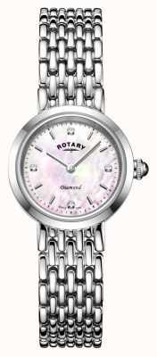Rotary | Women's Stainless Steel Bracelet | LB00899/07/D