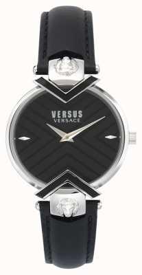 Versus Versace | Ladies Black Leather Strap | VSPLH0119