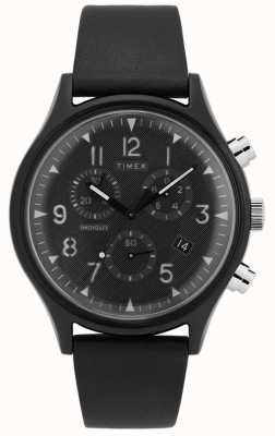 Timex | MK1 Steel Supernova Chrono | Leather Strap | TW2T29500D7PF