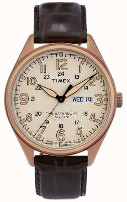 Timex | Waterbury | Traditional | Day Date Watch | TW2R89200D7PF