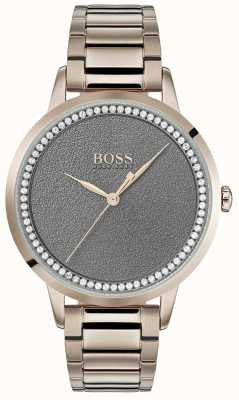 BOSS | Womens Twilight Watch | Stainless Steel | Grey Dial | 1502463