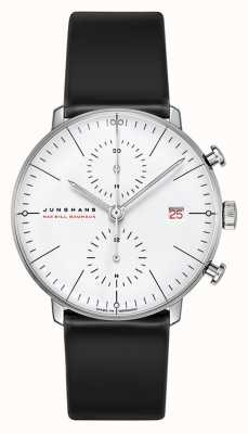 Junghans Limited Edition 18ct White Gold Max Bill 100 Year Bauhaus 027/9900.02
