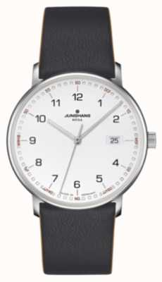 Junghans FORM MEGA JUNGHANS LEATHER BLACK 058/4931.00