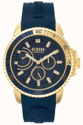Versus Versace | Mens Aberdeen | Blue Rubber Strap | Blue Dial | VSPLO0219