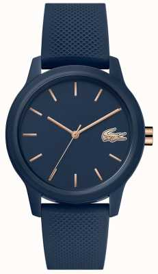 Lacoste | Womens 12-12 | Navy Silicone Strap | Navy Dial | 2001067
