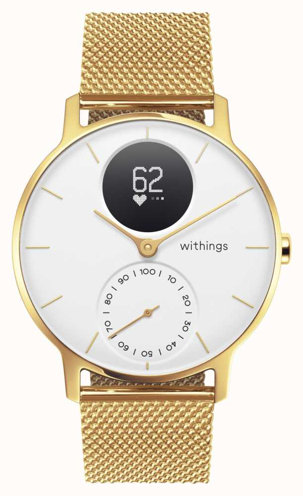 Withings HWA03B-36WHT-GOLD-MESH GOLD-ALL-INT