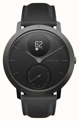 Withings Steel HR 40mm Limited Edition Grey Leather (+Rubber Strap) HWA03B-40BLK-SLATE GREY-L.BLK-ALL-INT