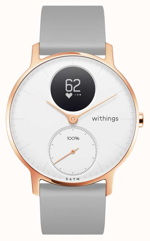 Withings HWA03B-36WHITE-RG-S.GREY-ALL-INTER